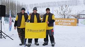 Участие в соревнованиях по зимней рыбалке!